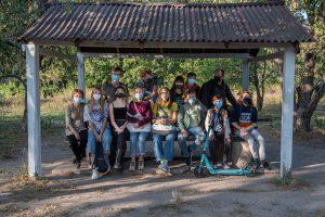 Fotografía grupo de la escuela be Basis